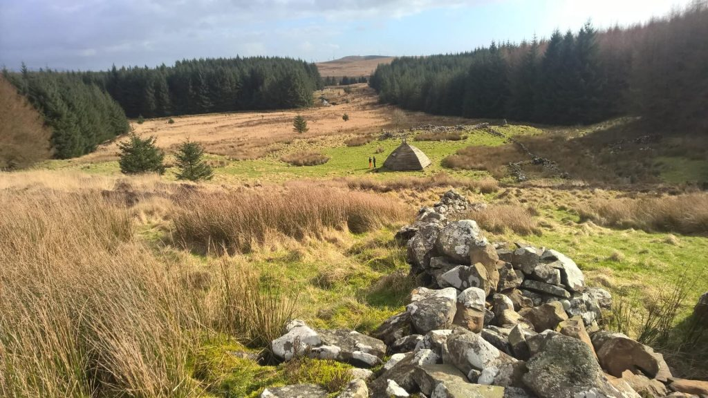 Beehive Bothy in Dumfries and Galloway